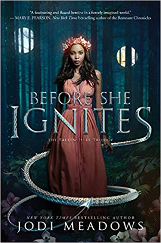 "OwlCrate Book September 2017: ""Before She Ignites"" by Jodi Meadows"