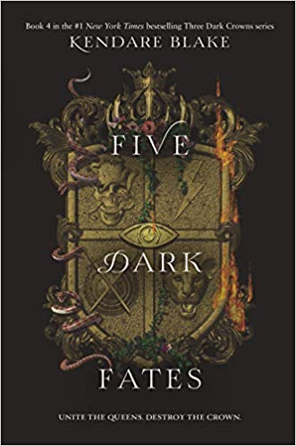 "5 Foremost Things about Kendare Blake's ""Five Dark Fates"""