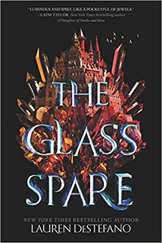 Book Review: THE GLASS SPARE by Lauren DeStefano (Owlcrate Book November2017)