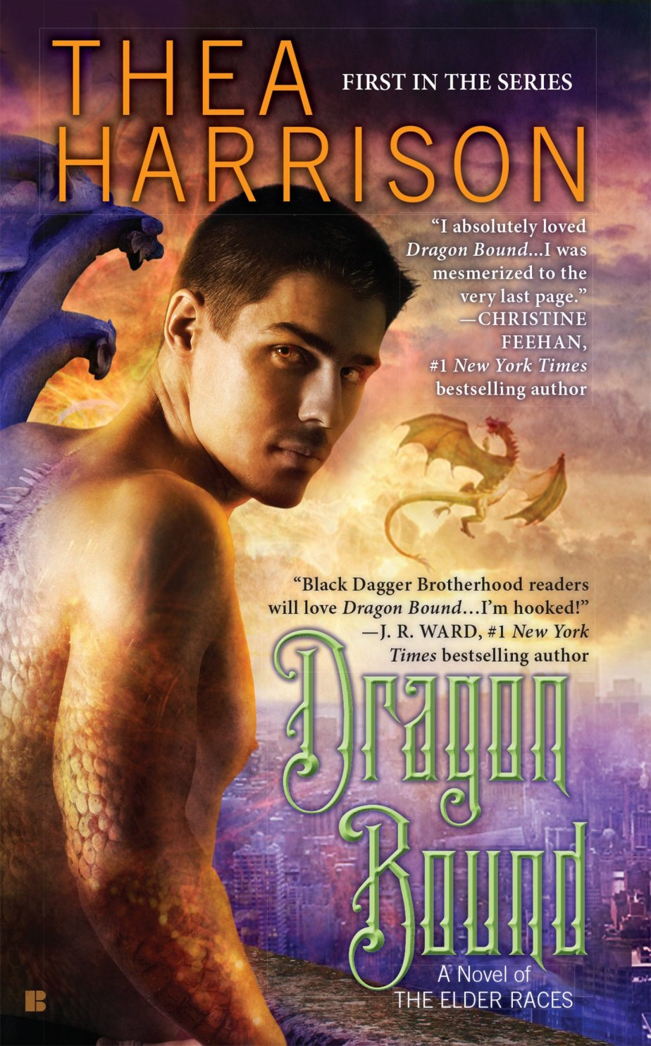 Book Review: 7 Dreamy Things about DRAGON BOUND by TheaHarrison